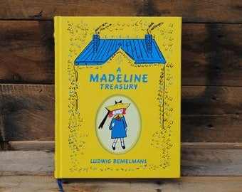 Hollow Book Safe - A Madeline Treasury - Leather Bound