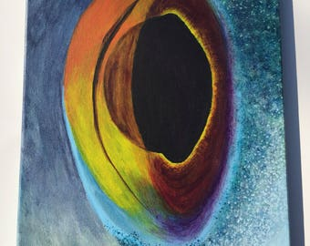 Fisheye- Canvas painting print