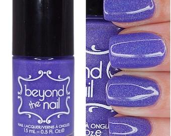 Intergalactic - Summer Galaxy 2.0 Nail Polish - Neon Purple Subtle Holographic