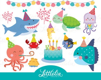 Sea animal party - underwater party - 17035