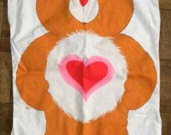 1980s Care Bear costume / Child / pullover / vintage costume / large image / repurpose / recycle