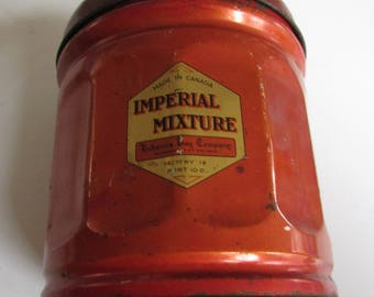 Vintage Hudson's Bay Company Imperial Mixture Tobacco Tin