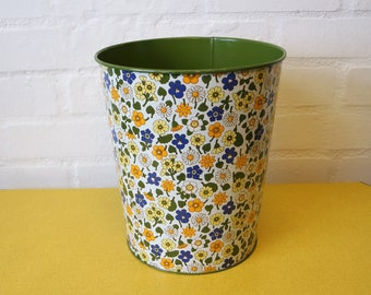 Vintage Regency Ware waste paper bin