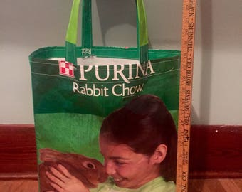 Reusable Market /Grocery Bag - Rabbit