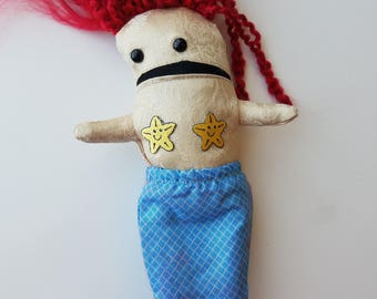 Spik- Quirky Mermaid Doll with Detachable Tail 1