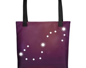 Tote bag - Zodiac Scorpio Constellation Tote Bag