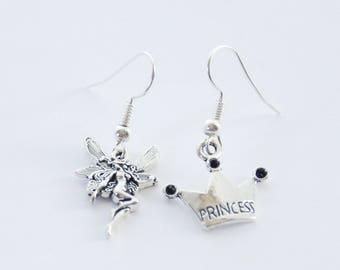 Fairy Earrings, Princess Earrings, Fairy Jewelry, Gifts Under 20, Fairy Princess, Fairy Gift, Fantasy Earrings, Fairy Cosplay