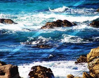 "Pebble Beach, California The beautiful ""17 mile Drive"""