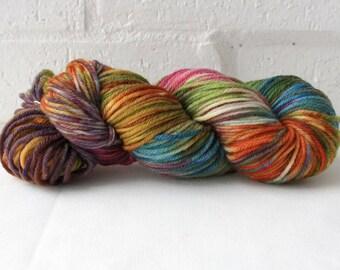 Hand dyed DK / 8ply 100% Wool - 'Zippy II'