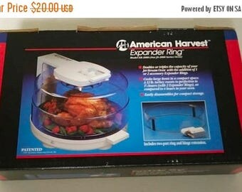 On Sale, American Harvest, Expander Ring, Vintage and NEW, For JS-2000 Series Oven, Ring & Hinge Extension, Original Box, NEW