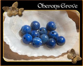 20 Lapis Lazuli beads 4mm