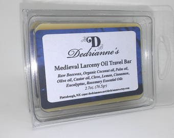 Medieval Larceny Oil Travel Bar
