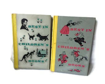 Pair of Best In Children's Books, 1957 and 1958 Vintage Classic Children's Books