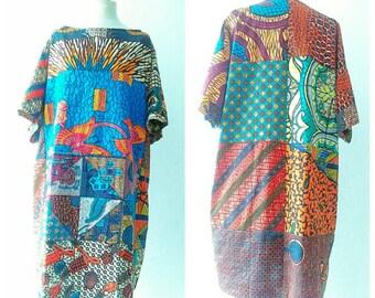 Ankara Dress African Clothing African Dress African Print Dress African Fashion Women's Clothing African Fabric Short Dress Summer Dress