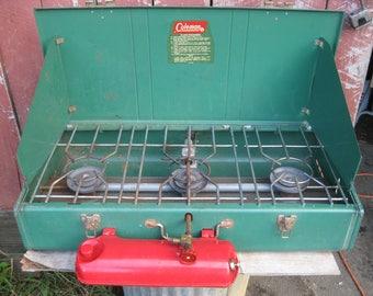 Super nice Vintage Coleman 3 burner Camping Stove 426D