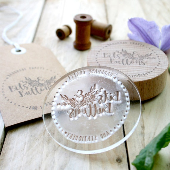 Wax Seal Stamp - Maker's marks - Custom Wax Seal Stamps - Made to Order Stamp - Custom Order Stamp - Wax Seal - Custom Seal - Gift For Her