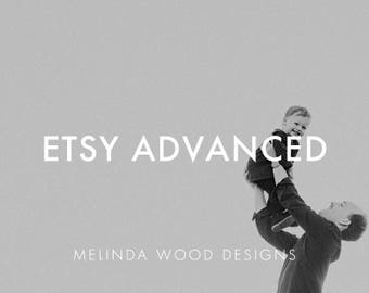 Etsy Advanced | For Advanced Etsy Shops, Keywords, SEO Help, Stats, Sales Tracker, Titles, Tags, Shop Owner, Etsy Seller, Cover Photo