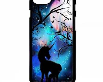 Unicorn horse full moon magic symbol stars space art cover for Samsung Galaxy S5 S6 s7 s8 plus edge note 4 5 phone case
