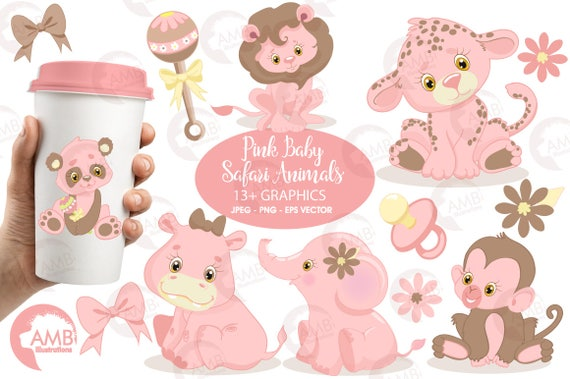 Cartoon Baby Animals Clipart