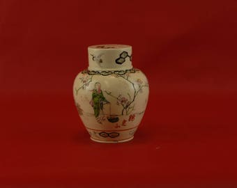 1900s Japanese Tea Canister Signed