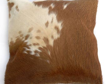 Natural Cowhide Luxurious Hair On Cushion/ Pillow Cover (15''x 15'') A32