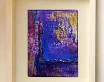ACEO cards ACEO abstract art Miniature original art Original painting Art cards Acrylic ACEO