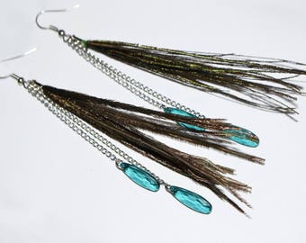 Style Peacock earrings