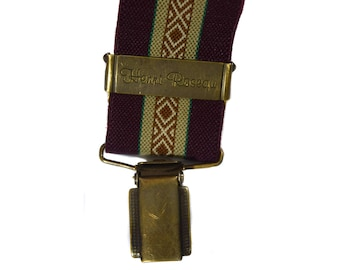 Vintage Henri Roseau men suspenders pair of braces galluses PCT Germany