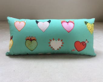 Cushion 60x30cm hearts Love is all you need
