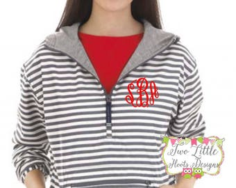Woman's Charles River Chatham Anorak Print Pullover ~ Monogram Pullover Jacket ~ Monogrammed Jacket ~ Monogrammed PullOver ~  5809P Pullover