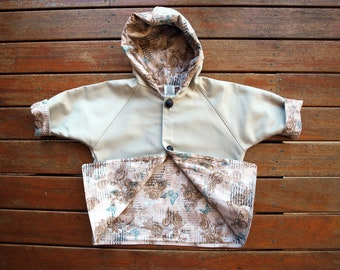 Girls Coat,Girls Jacket. baby girls jacket,Australian  Moleskin and fully lined in a butterfly print, Available In size 1 size 2 and size 3