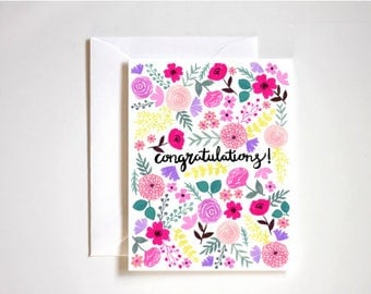 Will You Be My Bridesmaid Card / Wedding Cards / Blank Note Cards