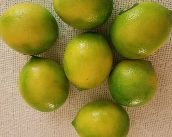 Artificial natural realistic Limes 8-Pack