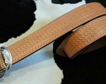 No.900E Handmade Vintage Reproduction Cowboy Western Belt