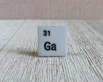 Chemical Element - Chemistry Teacher - Chemist - Science - School - Ga 31 - Gallium - Lapel Pin
