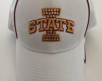 Iowa State University Swarovski Crystal Hat