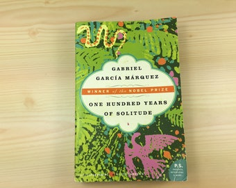 one hundred years of solitude paperback 1989 book penguin classics gabriel garcia marquez vintage used