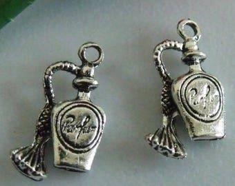 X 2 perfume silver 18mm Tibetan