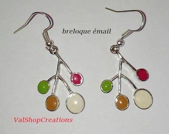 Branch earrings in 4 colors