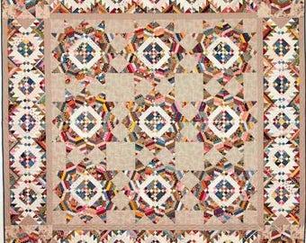 Trailmix Quilt Pattern - Edyta Sitar - Laundry Basket Quilts - LBQ 0538-P
