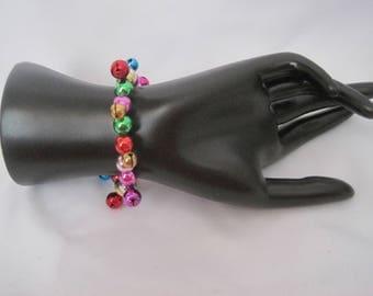 Vintage Multicolored Bell Bracelet
