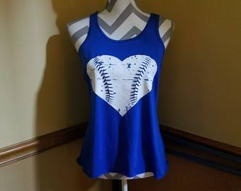 Baseball heart tank