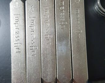 USED ImpressArt Stamps 6mm and 3mm
