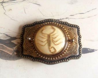 Belt Buckle Vintage 70s