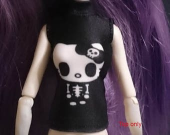 Dolls tops clothes outfit for Monster high/Ever after high doll- 000022-0