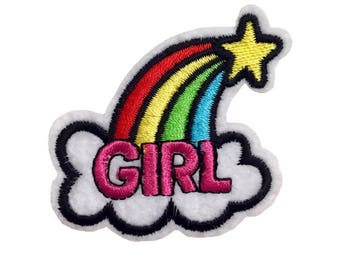GIRL Iron-On Patch