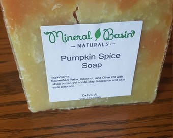 Pumpkin Spice Soap - VEGAN