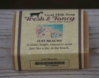 Just Beachy Goat Milk Soap