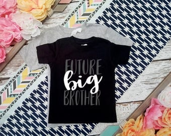 Custom Colors / Future Big Brother Shirt / I'm going to be a Big Brother T-Shirt