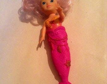 Summer Sale Vintage Little Pink Disney Mermaid With Removable Tale - Disney Simba Toys